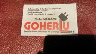 ELECTRICIDAD GOHERLU.electricista.economico