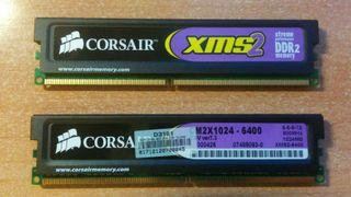 RAM Corsair DDR2 2x1024MB 800MHz CL5