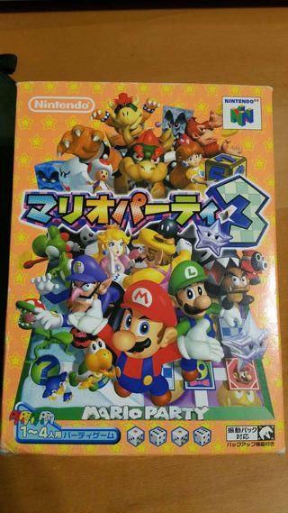 Mario Party 3 japonés