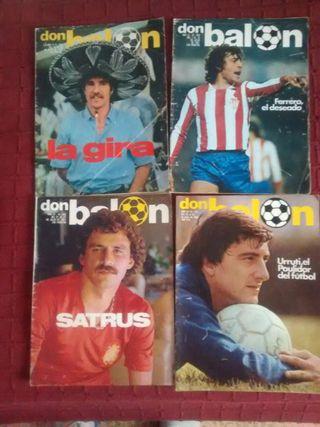 Revistas Don balón