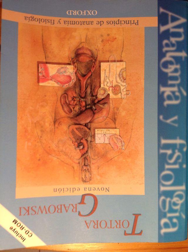 Libro Principios De Anatomia Y Fisiologia ( Tortora) de segunda mano ...