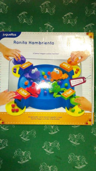 """Juego """"Ranita hambrienta"""" juguettos"""