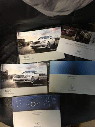 Manual Mercedez Benz Clase C