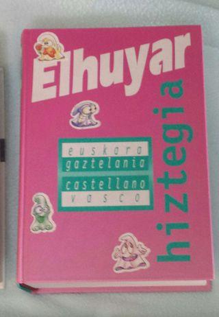 Elhuyar diccionario euskera.
