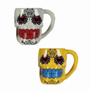 Taza mexicana cerámica nueva diferentes colores