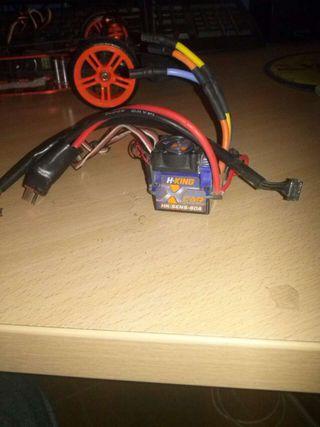 Variador brushless con sensores