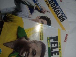 Genios del balón. Ronaldo y Pelé