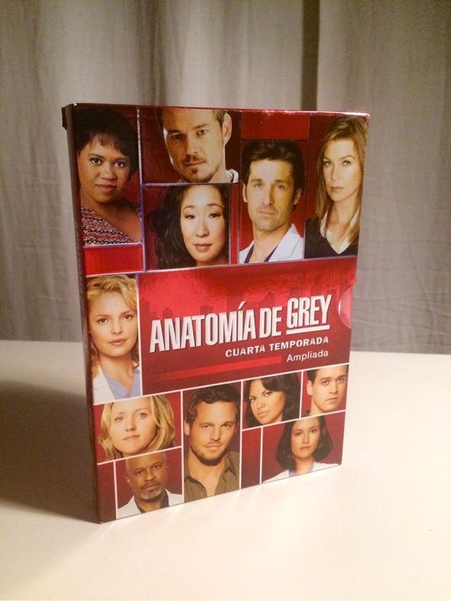 DVD Anatomia De Grey Temporada 4 de segunda mano por 10 € en Leganés ...