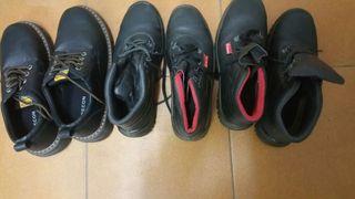 zapatos y botas de trabajo de seguridad tuntas o por separado