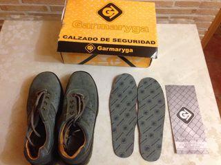 Zapatos/botas Laborales De Seguridad