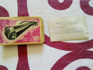 Lote 45 cromos Historia de las Armas 1955.