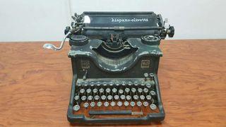 Máquina de escribir antigua Hispano Olivetti M40