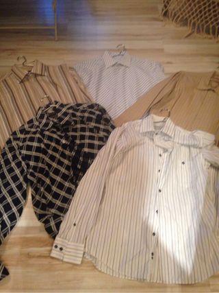 Lote De 5 Camisas Caballero