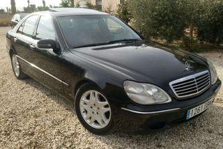 Mercedes s 400 cdi automático.
