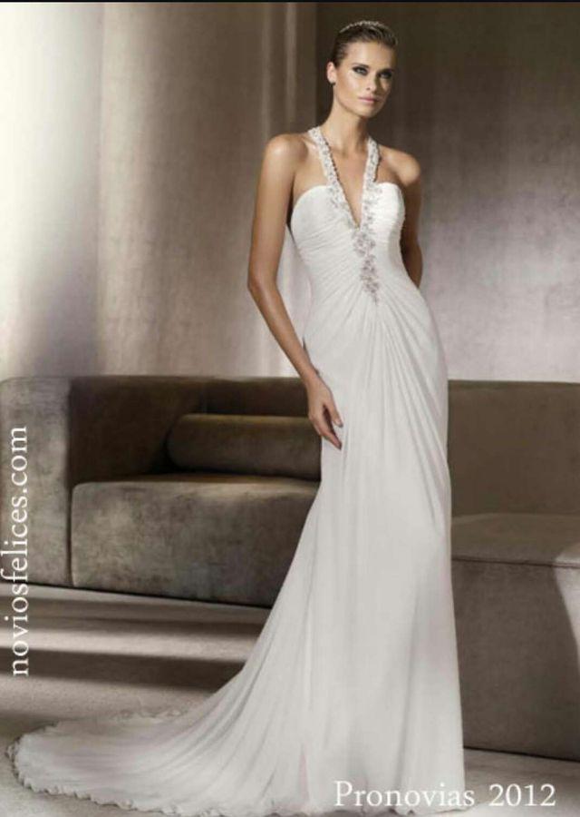vestido de novia de pronovias modelo pelicano 2014 de segunda mano