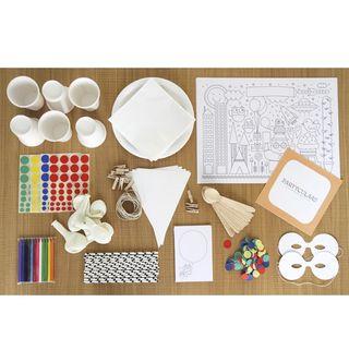 Kit Pinta-y-colorea para fiestas infantiles