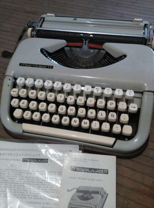 Maquina de escribir Maritsa 11