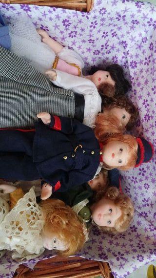Muñecas porcelana Antiguas.