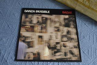 Disco vinilo de Danza Invisible.