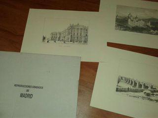 LITOGRAFIAS MADRID ANTIGUO
