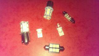 Bombillas LED coche i moto 12 v