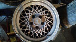 3 Llantas BBS Mercedes 190