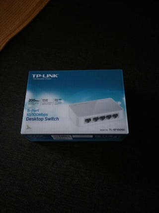 Switch 10/100Mbps TP-LINK