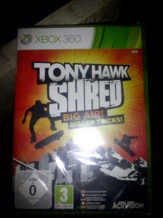 Juego XBOX 360 Tony Hawk