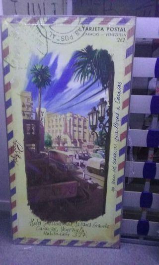 Cuadro postal