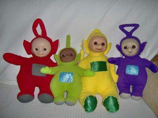 Muñecos peluches Teletubbies Originales.