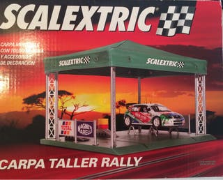 Scalextric. Carpa Taller Rally.