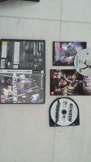 Juego Gundam ps2 japones