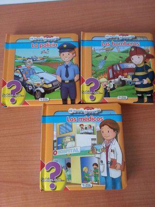 """Lote libros infantiles educativos """"Profesiones"""""""