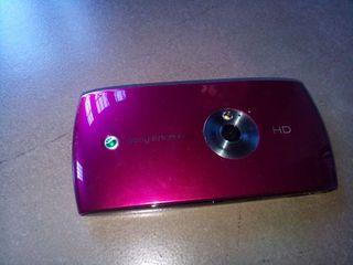 Sony Ericsson vivaz rojo