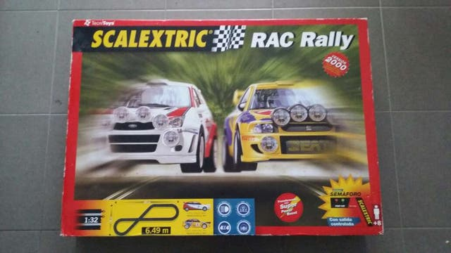 Scalextric Rac Rally