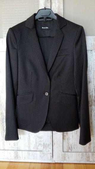 Traje diplomático pantalón y chaqueta