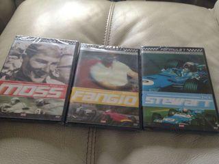 DVD PILOTOS F1 J.STEWART/J.FANGIO/E. MOSS
