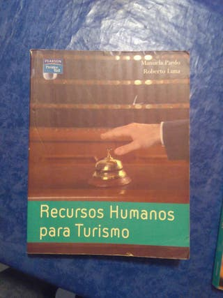 Libro Recursos humanos para turismo