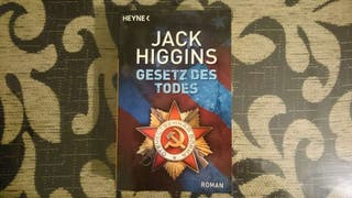 "Libro en alemán ""Gesetz des todes"""