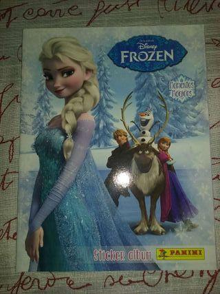 Sticker album Frozen vacío