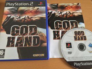 God Hand De PS2 PAL España