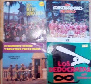 Vinilos,singles,cassettes,cds de carnaval