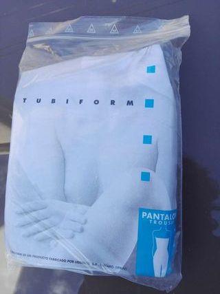 Tubiform pantalón y pernera para tratamientos de estética