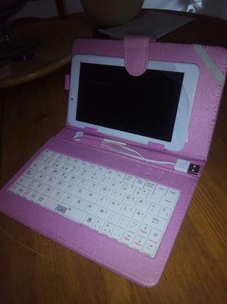 """Funda teclado tablet 7""""-9"""""""