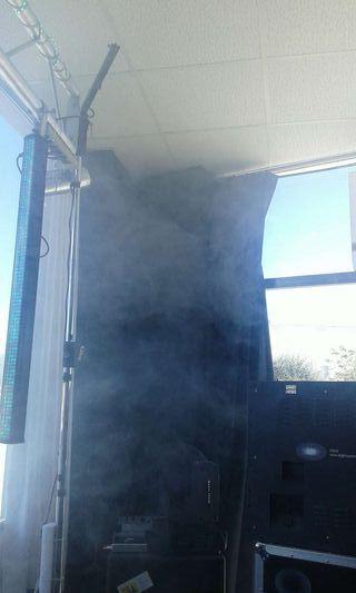 Garrafa liquido humo