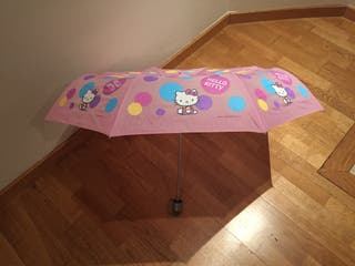 Paraguas de la Hello Kitty