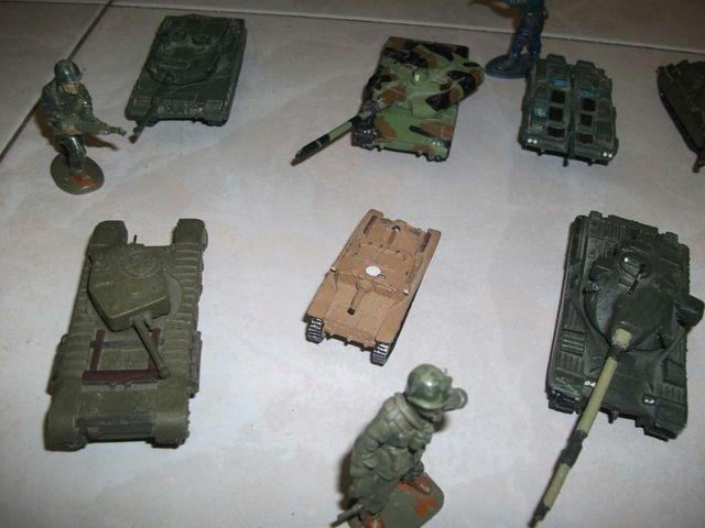 Tanques de plomo