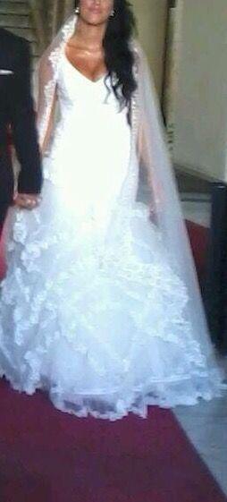 vestido de novia talla 38 de segunda mano en cádiz en wallapop
