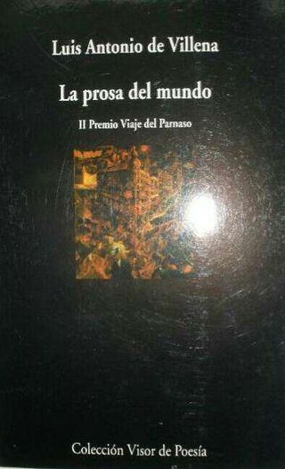 LUIS ANTONIO DE VILLENA (LA PROSA DEL MUNDO)