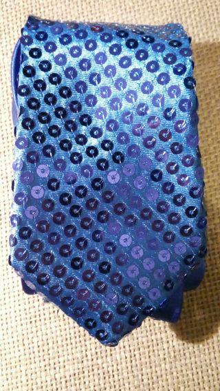 Corbata lentejuelas